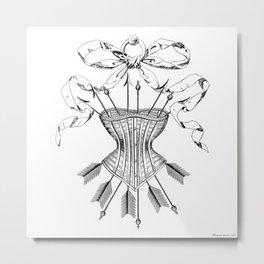 A true victoran lady Metal Print