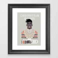 christian scott Framed Art Print