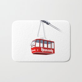 Heavenly Cable Car Bath Mat