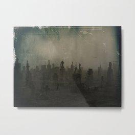 Dark And Dank Fog Metal Print
