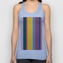 Mod Stripes Unisex Tank Top