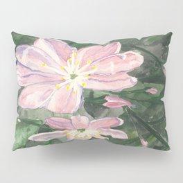 Little Pink Flowers Pillow Sham