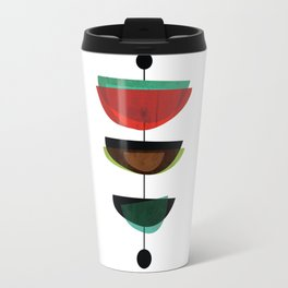 Modern Mid Century Art 3 Travel Mug