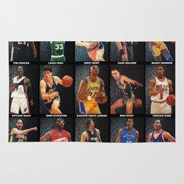 Basketball Legends Rug