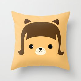 Hello my name is CHAO  Throw Pillow