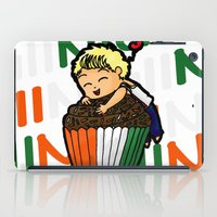 niall iPad Cases featuring Cupcake Niall by Babi
