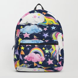 Unicorns, Rainbows & Stars Backpack