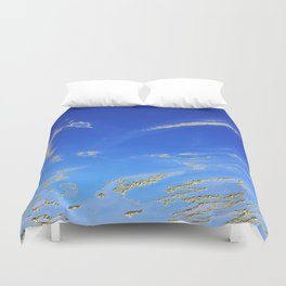 Fly, in the sky, like a butterfly ... Duvet Cover