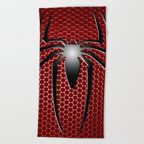 Spiderman Spider Beach Towel