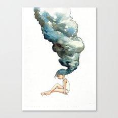 Fluid Mind Canvas Print