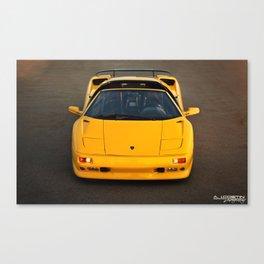 Lamborghini Diablo VT Roadster (Front) Canvas Print