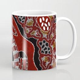 Authentic Aboriginal Art - Turtle Dreaming Coffee Mug