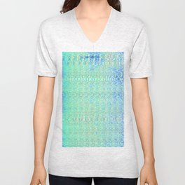 Digital Glitch Unisex V-Neck