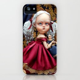 Annabelle White iPhone Case