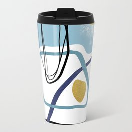 Modern minimal forms 10 Travel Mug