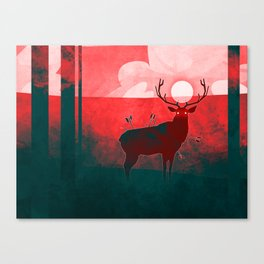 At Peace Canvas Print