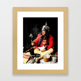 Seneca Tribe Native American 1730 Framed Art Print