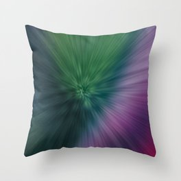 Calamity of Clashing Colors Throw Pillow