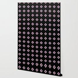 heart 10 – Heart flower –  Pink. Wallpaper