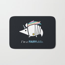 Armadillos Epidemy - Fairy'dillo Bath Mat