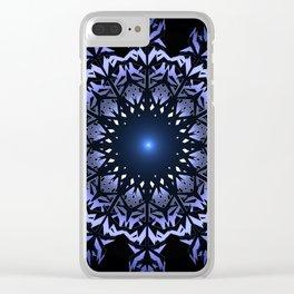 Mandala snowflake. Clear iPhone Case