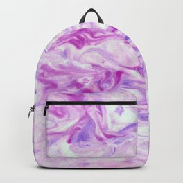 Awesome pink marble texture Backpack