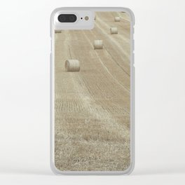 Rolling Harvest Clear iPhone Case