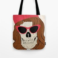 60s Tote Bags featuring 60s by Christopher Goggs