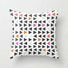 Angles Throw Pillow