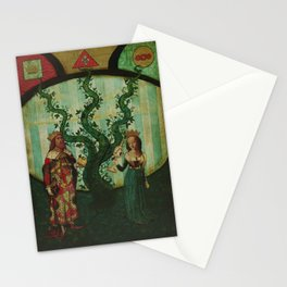 The Beanstalk of Life Stationery Cards