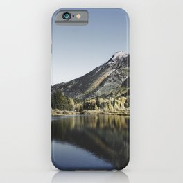The virtual ghost town of Crystal in Gunnison County Colorado USA - iPhone Case