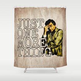 Columbo. Shower Curtain