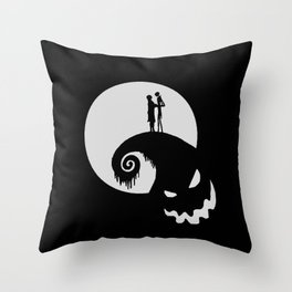 Nightmare Jack Skellington Throw Pillow