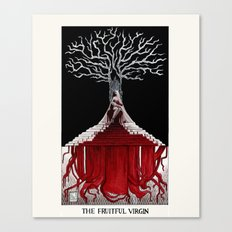 The Fruitful Virgin Canvas Print