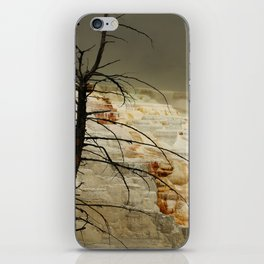 The Beauty Of A Travertine Terrace iPhone Skin