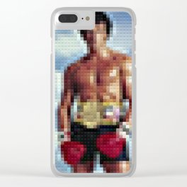 Rocky - Toy Building Bricks Clear iPhone Case