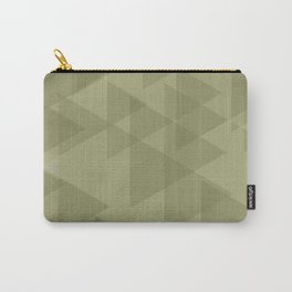 Sand triangles in the intersection and overlay. Carry-All Pouch