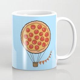 Pizza Hot Air Balloon Coffee Mug