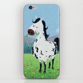 Spotty Horse iPhone Skin