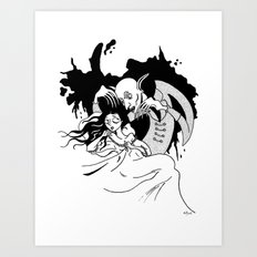Nosferatu the Vampire Art Print