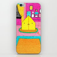 royal tenenbaums iPhone & iPod Skins featuring The Royal Tenenbaums Tent. by Alxndra Cook