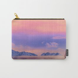 Alaskan Winter Fog Digital Painting Carry-All Pouch