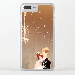 Barn Wedding Clear iPhone Case