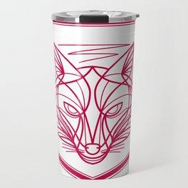 Fox Head Crest Monoline Travel Mug