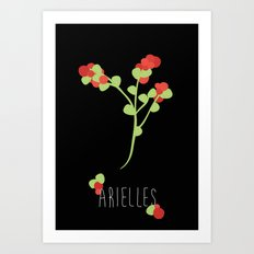 Arielles Art Print