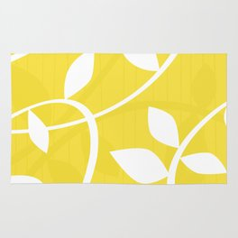 Vine in Yellow by Friztin Rug