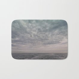 Flying seagull Bath Mat