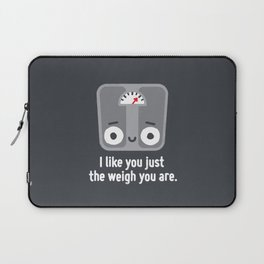 Through Thick and Thin Laptop Sleeve