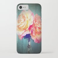 vintage flowers iPhone & iPod Cases featuring Vintage Flowers by 2sweet4words Designs