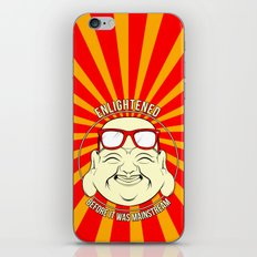 Hipster Budai iPhone & iPod Skin